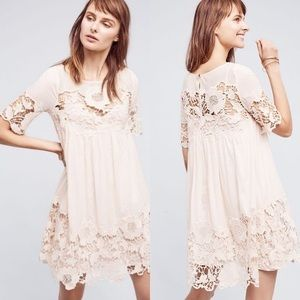 ANTHROPOLOGIE Magnolia Lace Dress